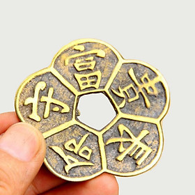 Đồng Tiền Hoa Mai cổ