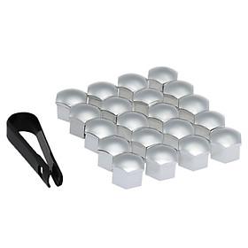 Set of 20pcs Universal 17mm Plastic Car Wheel Nut Covers Bolt Caps