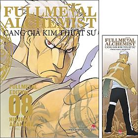 Fullmetal Alchemist - Cang Giả Kim Thuật Sư - Fullmetal Edition Tập 8 [Tặng Kèm Bookmark]