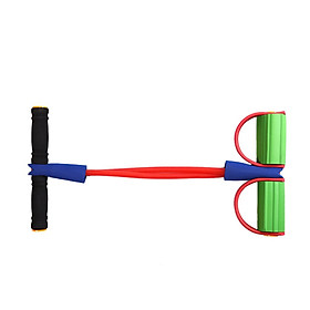 Ankle Puller Sit Up Mat Pull Rope Foot Pedal Exerciser Fitness Equipment-5