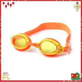 Kính Bơi Cho Trẻ Em Chuyên Dụng YESURE CLEACCO cao cấp chống tia UV ,chống sương mờ chất liệu ABS thân thiện với trẻ em, mặt kính trong , giúp quan sát tốt khi bơi - Màu cam