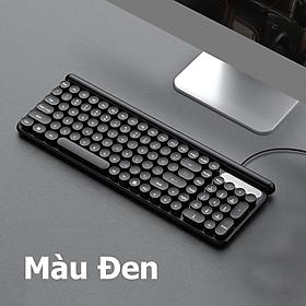 LANGTU L4 Bàn phím có dây dùng cho văn vòng, pc, laptop, tivi - Hàng Chính Hãng
