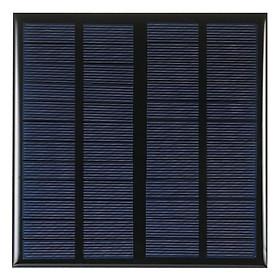 Pin Mặt Trời 3W 12V Cho Bộ Sạc Năng Lượng DIY