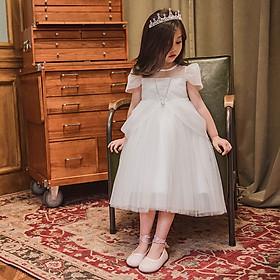 Váy công chúa bạch tuyết không kèm vương miện