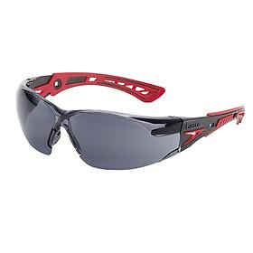 KÍNH Bảo Hộ BOLLE 1662302A Rush Plus - thiết kế thể thao, bảo vệ vùng trán, chống sương mù và trầy xước (tặng kèm hộp đựng kính)