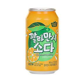 Nước Ngọt Soda Hàn Quốc Vị Cam (350ML)