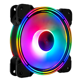 Quạt tản nhiệt, Fan Case Led RGB Coolmoon V5 - Hàng Chính Hãng