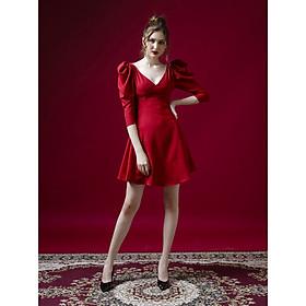 Đầm Hilda dự tiệc đỏ