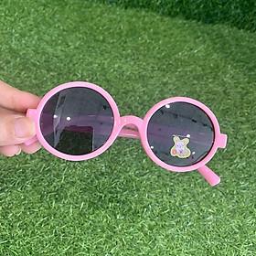 Kính cho bé gọng dẻo kính nobita đi ngày , tròng chống UV có lợi cho mắt