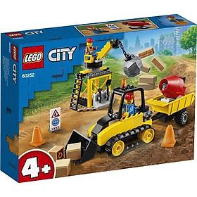 Đồ Chơi Lắp Ráp Lego City Máy Ủi Công Trình 60252 (126 Chi Tiết)
