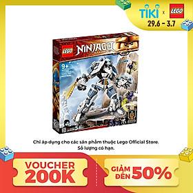 Đồ chơi xếp hình lắp ráp LEGO NINJAGO Chiến Giáp Titan Của Zane 71738