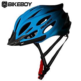 Mũ bảo hiểm xe đạp Bikeboy Chuyển Màu có đèn đuôi