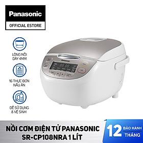 Nồi cơm điện Panasonic SR-CP108NRA 1Lit - Hàng Chính Hãng