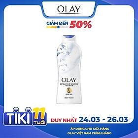 New Sữa Tắm Olay Fresh Daily Exfoliating Sea Salts