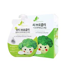 KEM FACE SÚP LƠ - Beauty Broccoli Ultra Brightening Cream (3 túi)-0