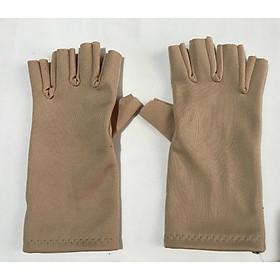 [COMBO 2] 2 Bao tay găng tay Nữ chất liệu vải su cắt 5 ngón chống nắng giữ ấm lái xe, sử dụng điện thoại - B011