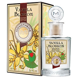 Monotheme Vanilla Blossom Pour Femme Eau De Toilette 100ml Spray