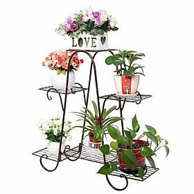 Kệ hoa 6 tầng siêu đẹp/ kệ để chậu hoa cây cảnh