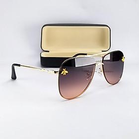 Mắt kính mát nữ thời trang DKY2002M. Tròng Polaized chống nắng, chống tia UV