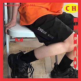 sét áo thun cam trơn basic chất cotton + quần đùi lửng zhong phản quang, sét đồ bộ nam nữ freesize unisex giá hạt rẻ
