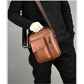 Túi đeo da sang trọng - Đẳng cấp phái mạnh - T1223