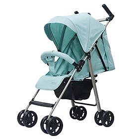 Xe đẩy trẻ em đa năng gọn nhẹ Thời trang cho bé Màu xanh mint