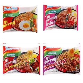 Thùng 40 Gói Mì Xào Khô Indomie goreng - mix vị