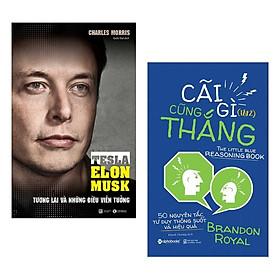 Combo Sách Kỹ Năng Làm Việc Để Thành Công: Tesla - Tương Lai Và Những Điều Viễn Tưởng + Cãi Gì Cũng Thắng - Tập 2 - ( Combo 2 Cuốn Sách /Top Sách KInh Tế Bán Chạy Nhất / Tặng Kèm Postcard Greenlife )