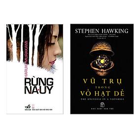 Combo sách văn học hay: Vũ Trụ Trong Vỏ Hạt Dẻ + Rừng Na Uy (Tác phẩm kinh điển / Sách bán chạy)