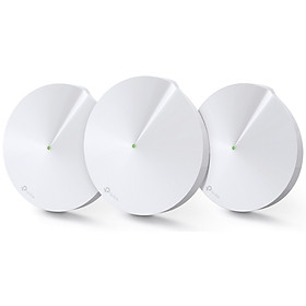 Bộ Phát Wifi Mesh TP-Link Deco M5 (3-pack)  Băng Tần Kép MU-MIMO AC1300 - Hàng Chính Hãng