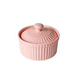 Hũ sứ có nắp  làm caramen, làm  bánh flan , sữa chua, bánh ngọt trong nồi chiên không dầu hoặc lò nướng