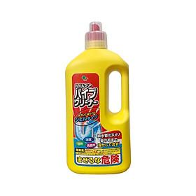 Nước thông cống SHINKOU (Hàng Nội Địa Nhật Bản) - Sản phẩm không mùi, khử trùng, khử mùi hôi đường ống - Phân hủy mạnh mẽ rác hữu cơ - Không làm hư hại đường ống