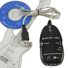 Cable USB Guitar Link Kết Nối Đàn Guitar Với Máy Tính AZONE