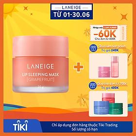 Măt Nạ Ngủ Cho Môi Hương Bưởi Laneige Lip Sleeping Mask Grapefruit (20g)