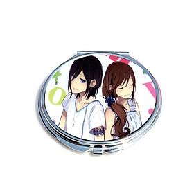 Gương hai mặt in hình HORIMIYA chibi anime xinh xắn dễ thương