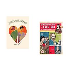 Combo 2 cuốn sách: Bí mật cuộc đời các danh họa và điêu khắc gia nổi tiếng + Chuyện tình triết gia