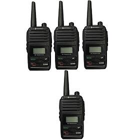 Bộ 4 bộ đàm Motorola GP6660 - Hàng Chính Hãng