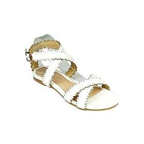 Giày Sandal Bệt Nữ SUNDAY SD16 - Trắng