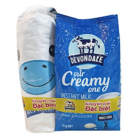 Sữa Bột Full Cream Devondale (1Kg / Túi) - Tặng Gấu Bông