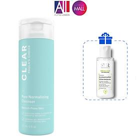 Sữa rửa mặt giảm mụn Paula's Choice Clear Pore Normalizing Cleanser TẶNG mặt nạ Sexylook và tẩy trang SVR (Nhập khẩu)