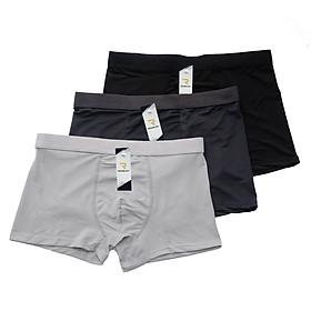 Combo 3 Quần sịp nam thông hơi, quần lót nam chất cotton thun lạnh mịn mát - ZQ204