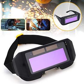 Auto Darkening Welding Helmet  Automatic Light Change Anti-Glare Eyes Shied Goggle Glasses Masks Autos Shades