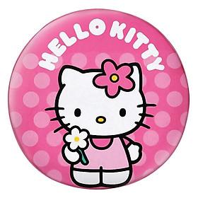 Gối Ôm Tròn Hello Kitty Cầm Hoa GOCT009