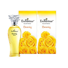Combo 2 chai Nước hoa nữ Enchanteur Charming mini (10ml x 2)