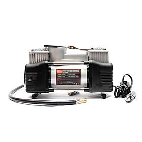 Máy bơm lốp ô tô 2 xi lanh có đèn CIND CD-P006L