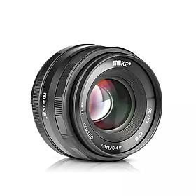 Ống kính Meike 35mm F1.4 lấy nét thủ công cho máy ảnh mirroless Fuji, Sony, Canon- Hàng nhập khẩu