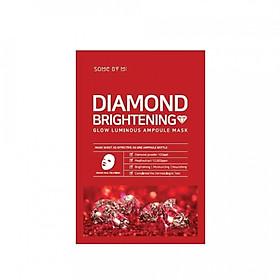 Mặt nạ giấy Some By mi Diamond Brightening  Glow Luminous Ampoule Mask