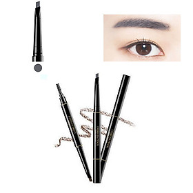 Double Headed Eyebrow Pencil With Brush Smooth Health Beauty Makeup Tool