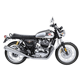 Xe Moto Royal Enfield Interceptor - Xám