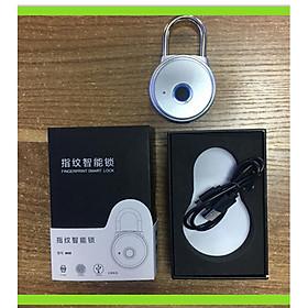 Ổ Khoá Kết Nối Điện Thoại App Vân Tay Thông Minh Sạc Điện Chống Trộm USB - WH08